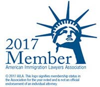 American Immigration Lawyers Association Logo for 2017