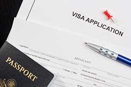 US Visa application & passport