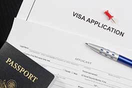 U.S. Visa Application and U.S. Passport