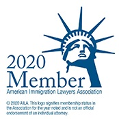 American Immigration Lawyers Association 2020 membership badge