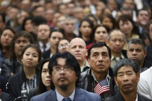 diverse group of us immigrants