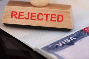 rejected immigration visa