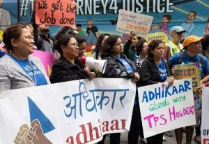 TPS for Nepal protesters