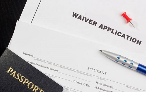 unlawful presence waiver application & passport