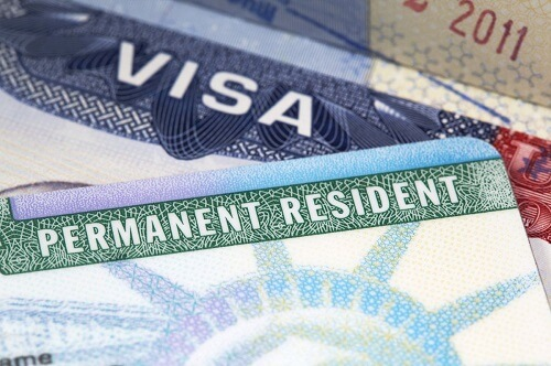US Visa & Permanent Resident cards