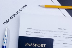 US immigration Visa application & passport